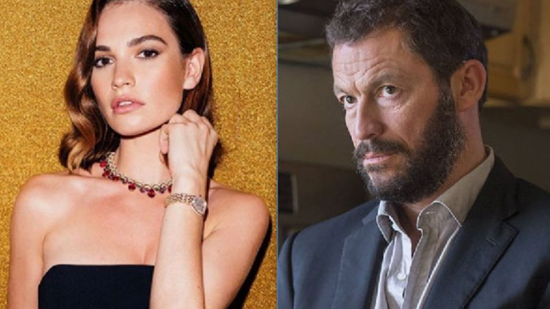 Lily James y Dominic West protagonizan el último escándalo de Hollywood