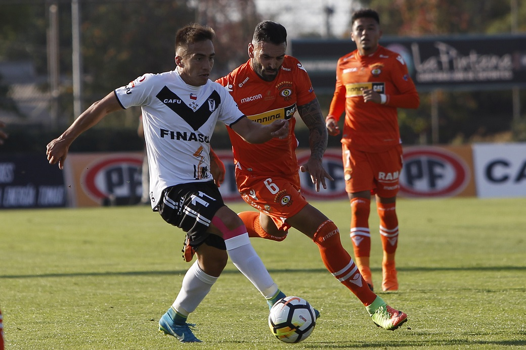 Santiago Morning vs Cobreloa, futbol primera B 2018.